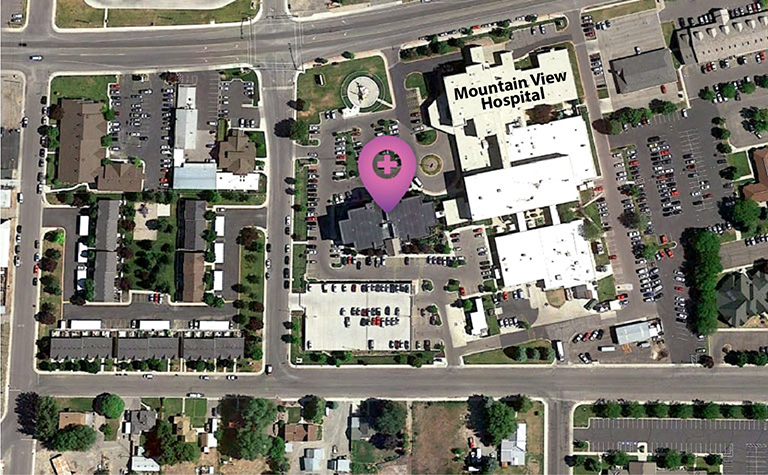 Overhead view of Payson location
